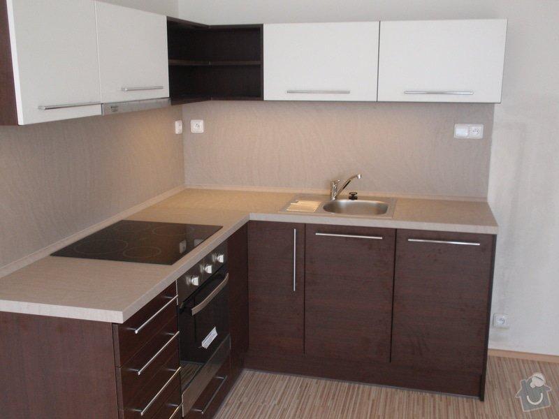 Výroba a montáž kuchyňské linky: P7162400