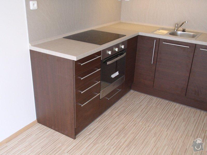 Výroba a montáž kuchyňské linky: P7162401