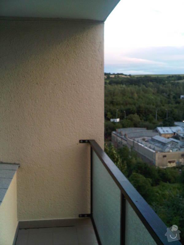 Zasklení balkonu - bezrámový systém: IMG00171-20120717-2045