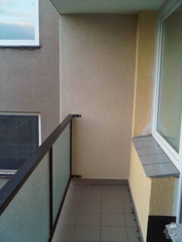 Zasklení balkonu - bezrámový systém: IMG00173-20120717-2045