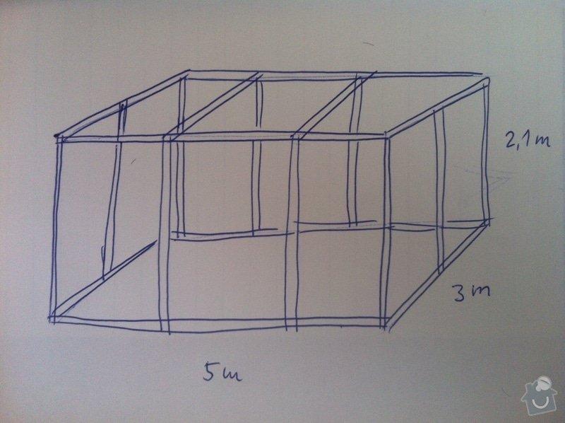 Železnou svařovanou konstrukci 5x3 m: obrazek