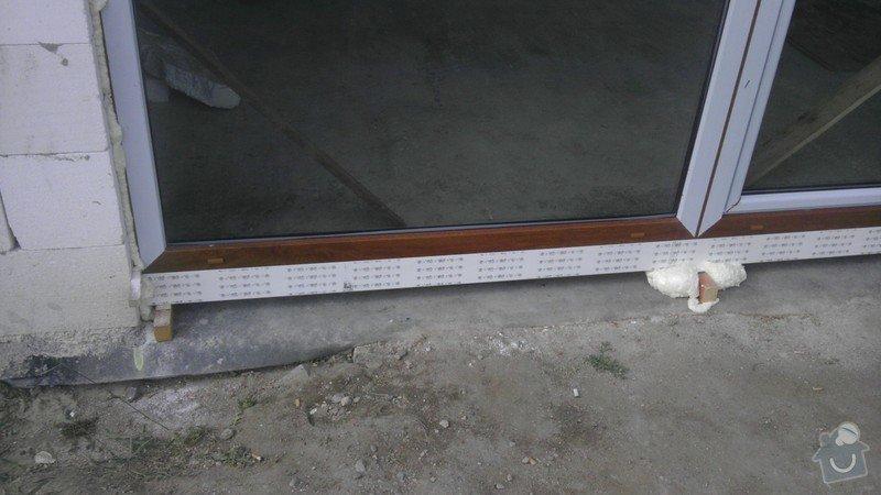 Dodávka a následná montáž oken: IMAG0264