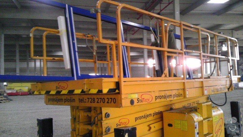 Montáž AL oken a dveří ve výrobní hale: IMAG0009