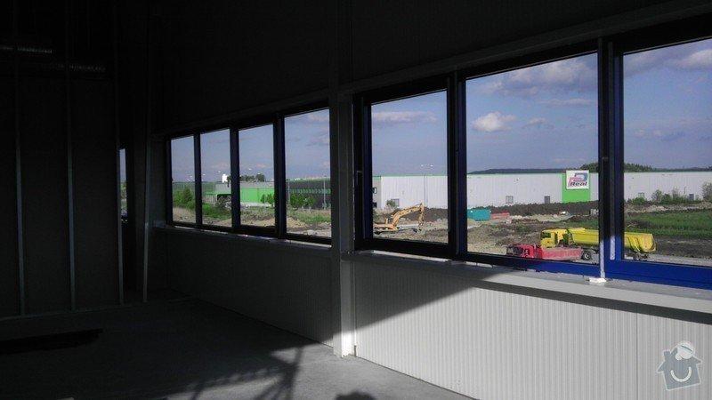 Montáž AL oken a dveří ve výrobní hale: IMAG0027