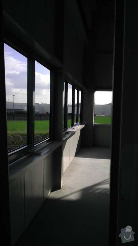 Montáž AL oken a dveří ve výrobní hale: IMAG0028