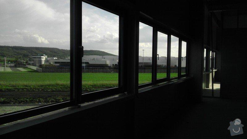Montáž AL oken a dveří ve výrobní hale: IMAG0029