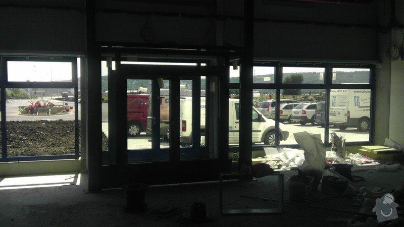 Montáž AL oken a dveří ve výrobní hale: IMAG0254