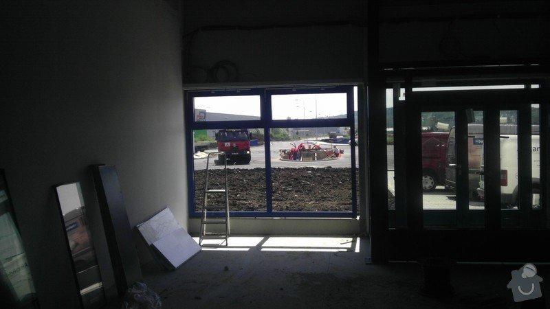Montáž AL oken a dveří ve výrobní hale: IMAG0255
