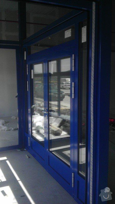 Montáž AL oken a dveří ve výrobní hale: IMAG0256