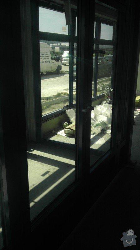 Montáž AL oken a dveří ve výrobní hale: IMAG0257