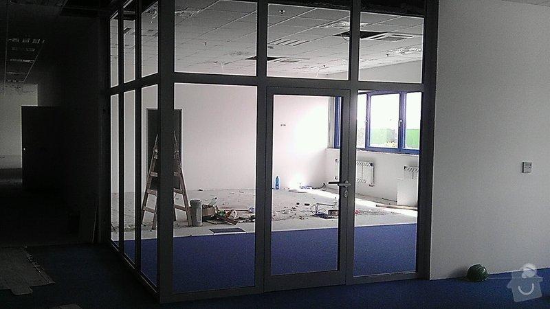 Montáž AL oken a dveří ve výrobní hale: IMAG0275-1