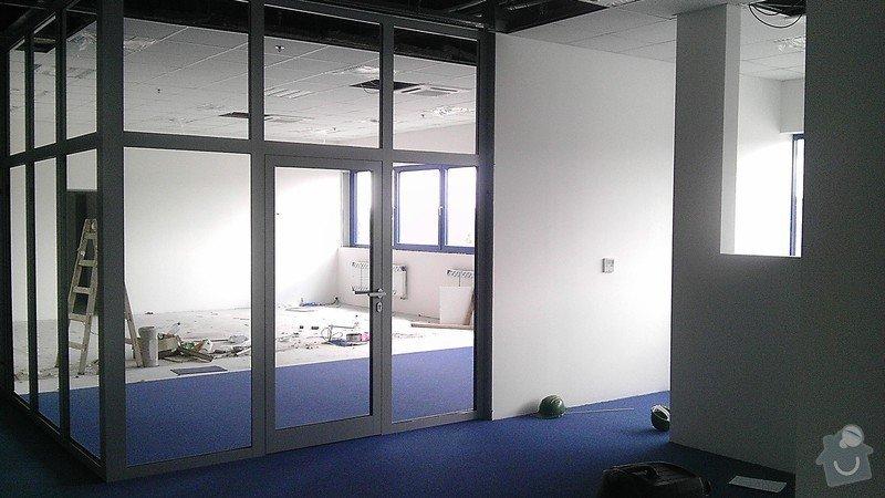 Montáž AL oken a dveří ve výrobní hale: IMAG0276
