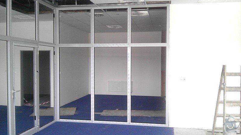 Montáž AL oken a dveří ve výrobní hale: IMAG0278