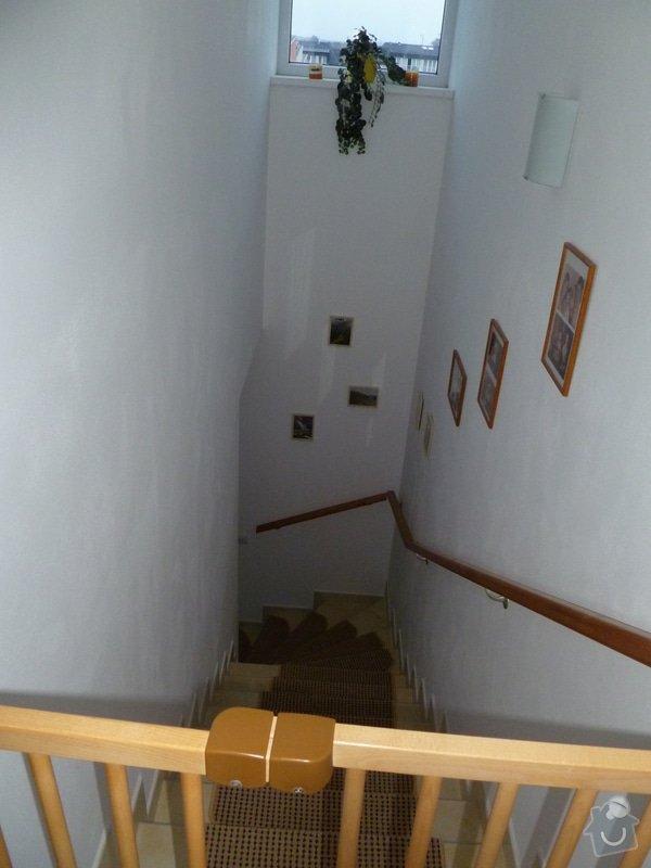 Obložení dlažbových schodů dřevem: P1020451
