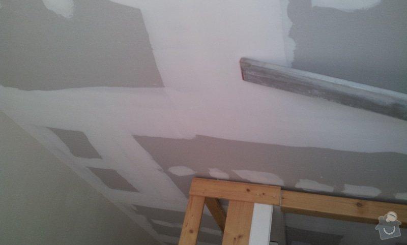 Rozdělení místnosti a montáž podlahy: 20120627_164045