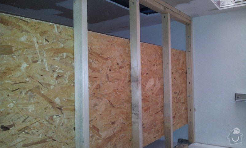 Rozdělení místnosti a montáž podlahy: 20120627_164100