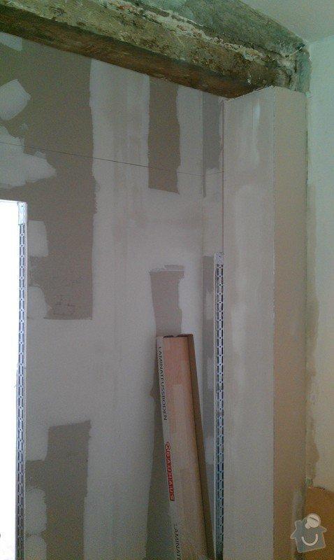 Rozdělení místnosti a montáž podlahy: IMAG0039