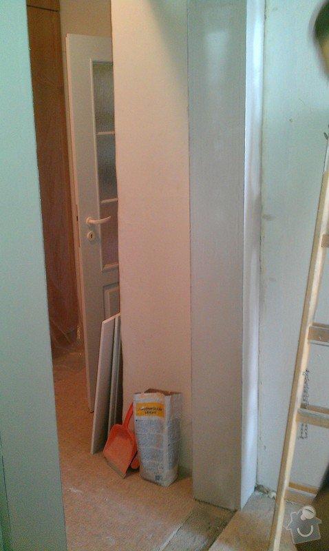 Rozdělení místnosti a montáž podlahy: IMAG0040