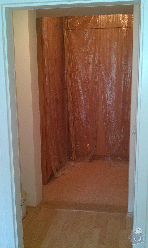 Rozdělení místnosti a montáž podlahy: IMAG0048