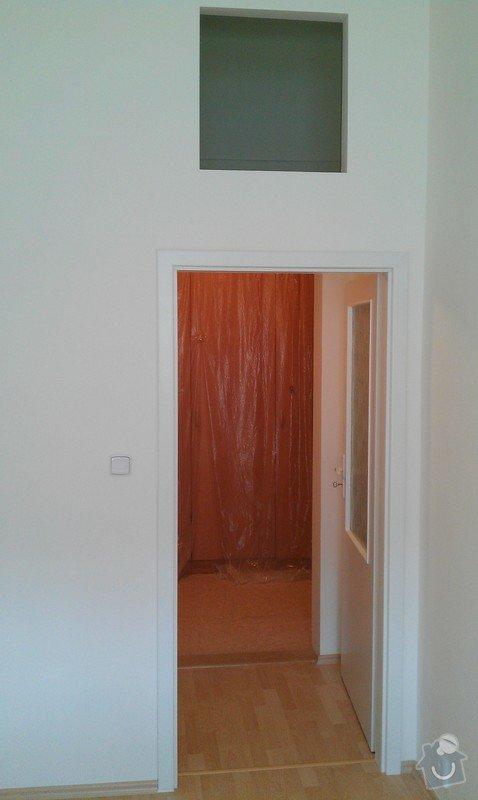 Rozdělení místnosti a montáž podlahy: IMAG0049