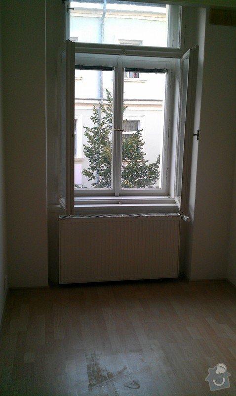 Rozdělení místnosti a montáž podlahy: IMAG0054
