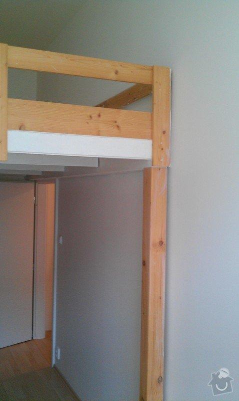 Rozdělení místnosti a montáž podlahy: IMAG0055