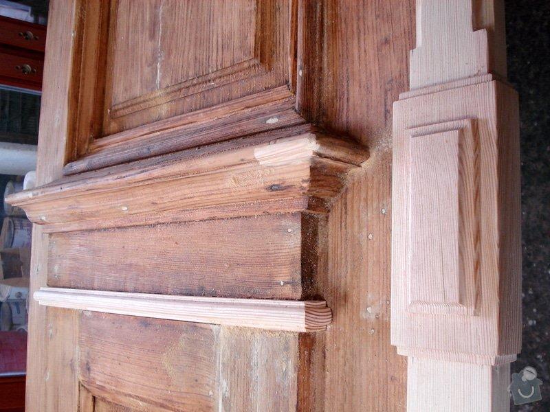 Repase venkovních dveří ze začátku 20. století: DSC07667