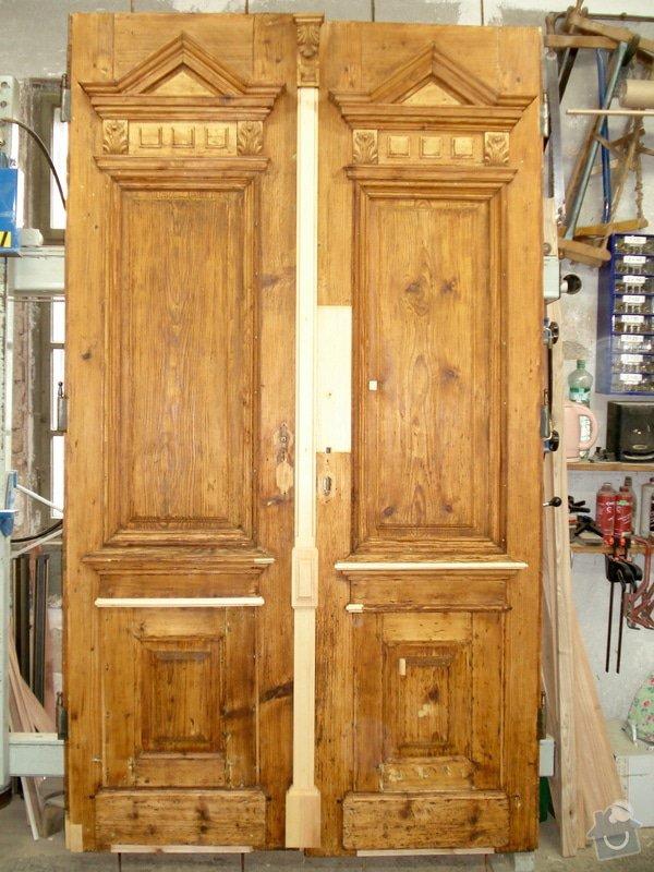Repase venkovních dveří ze začátku 20. století: DSC07670