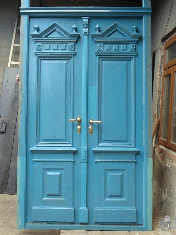 Repase venkovních dveří ze začátku 20. století: DSC07689