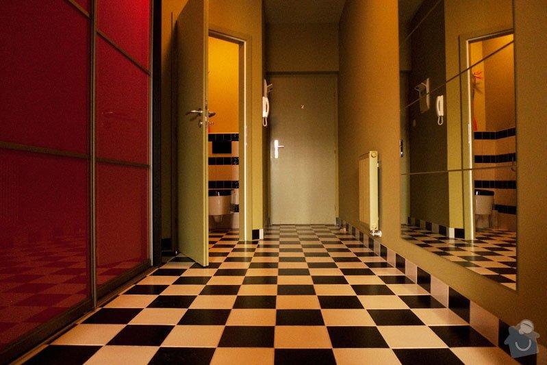 Atypický mezonetový apartmán: predsin