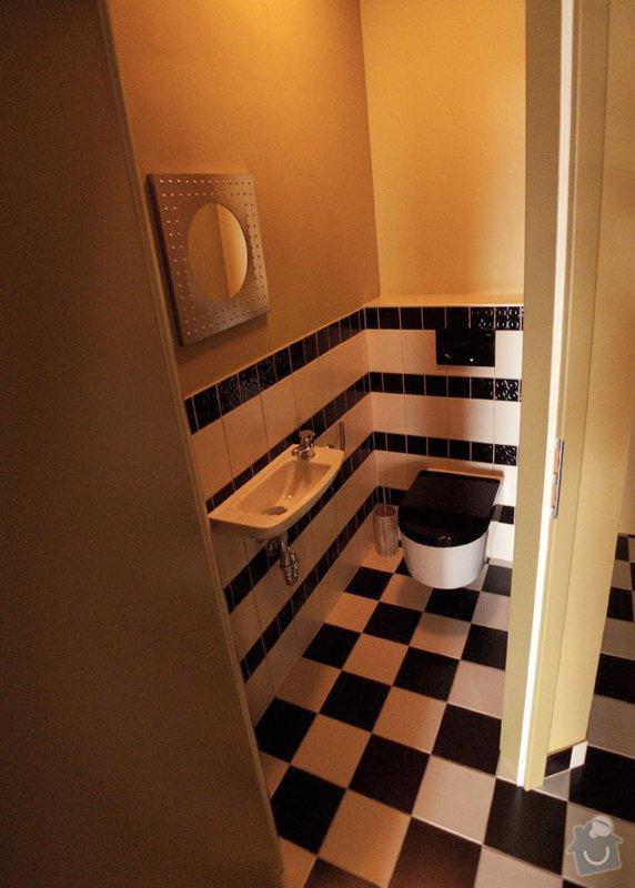 Atypický mezonetový apartmán: wc