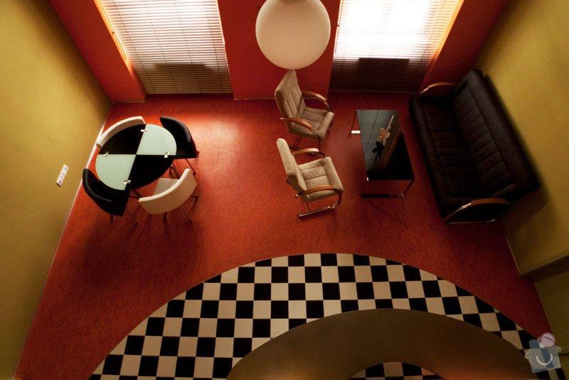 Atypický mezonetový apartmán: obyvak4