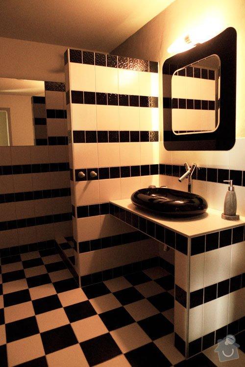 Atypický mezonetový apartmán: koupelna1