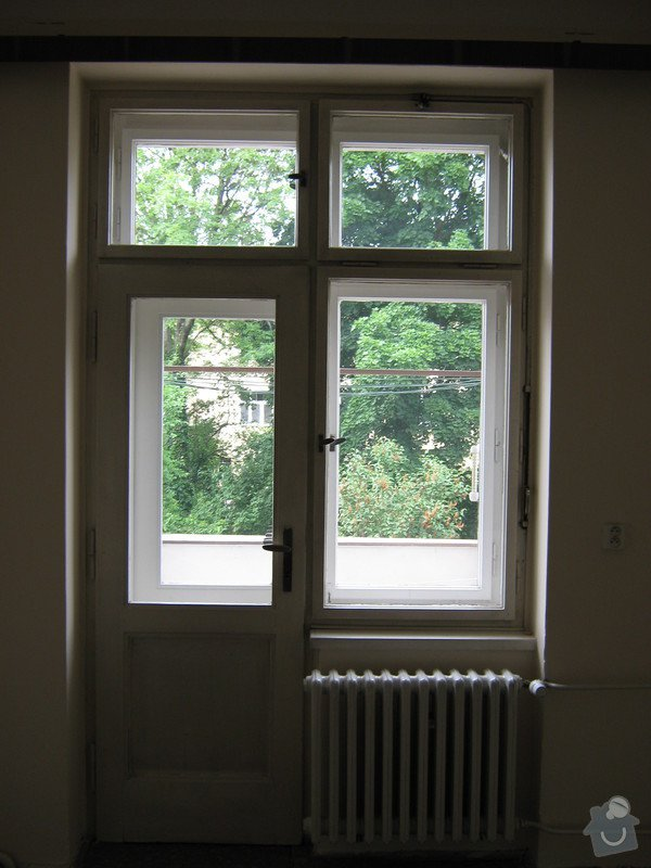 Rekonstrukce oken: byt_Divisova_ulice_050