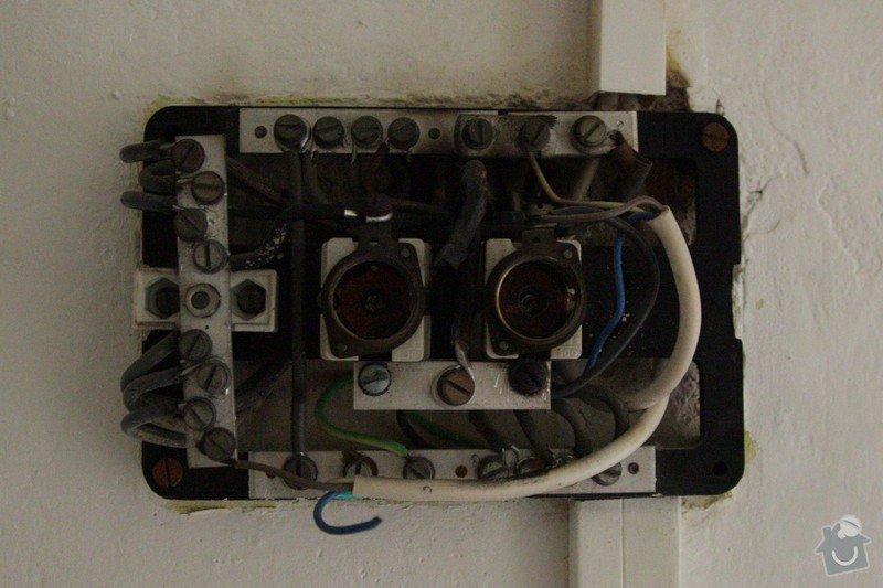 Elektroinstalace - výměna rozvodnice a jističů: 02