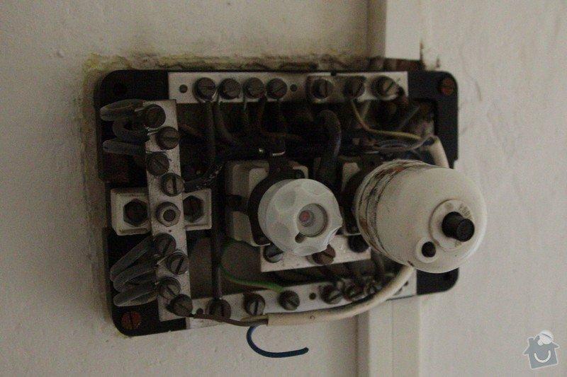 Elektroinstalace - výměna rozvodnice a jističů: 03