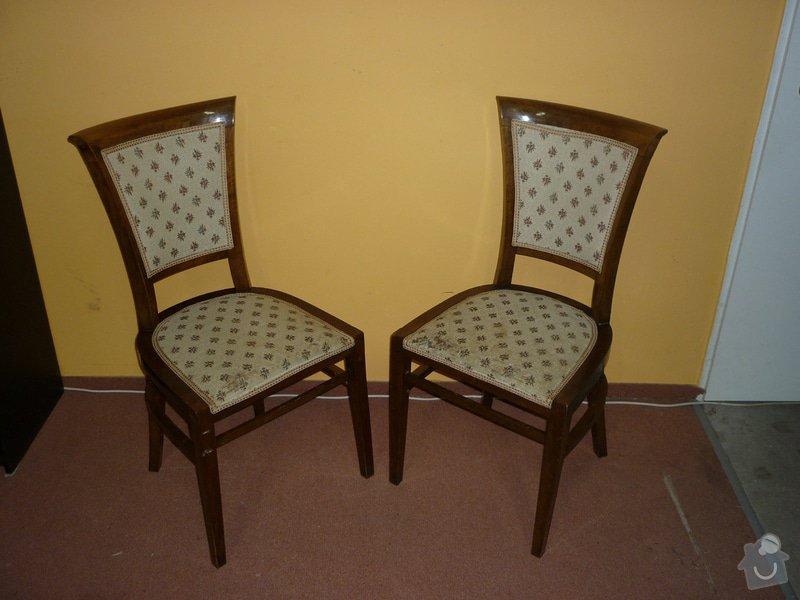 Čalounění nábytku kůží: P1020630