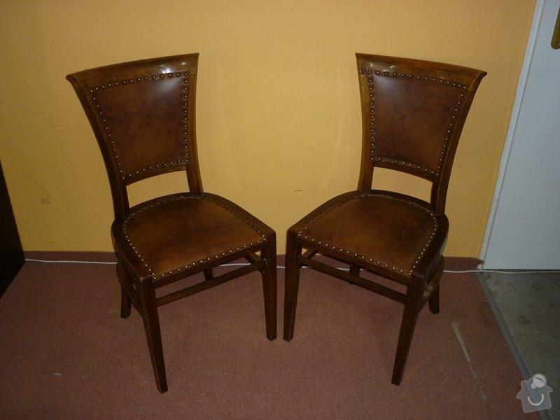Čalounění nábytku kůží: P1020636