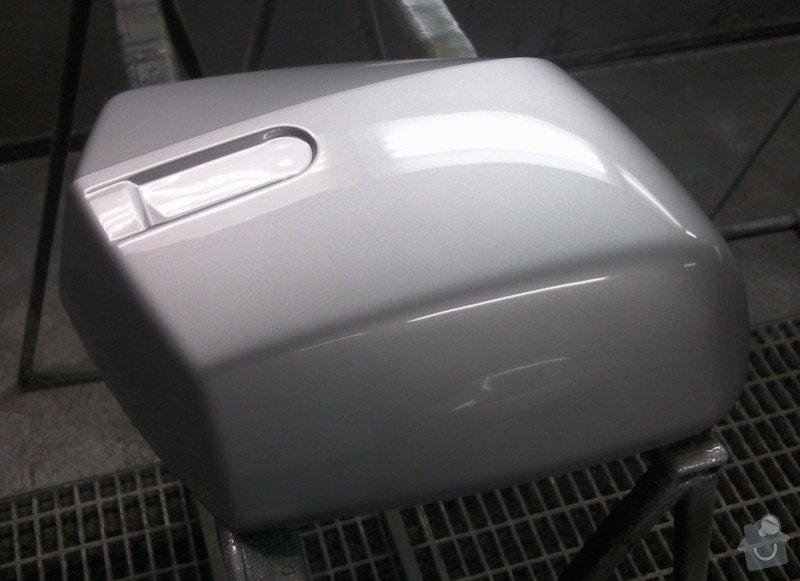 Lakování (nástřik, stříkání) motoboxů (motokufrů): Fotografie-10031