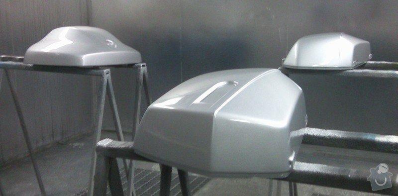 Lakování (nástřik, stříkání) motoboxů (motokufrů): Fotografie-10038