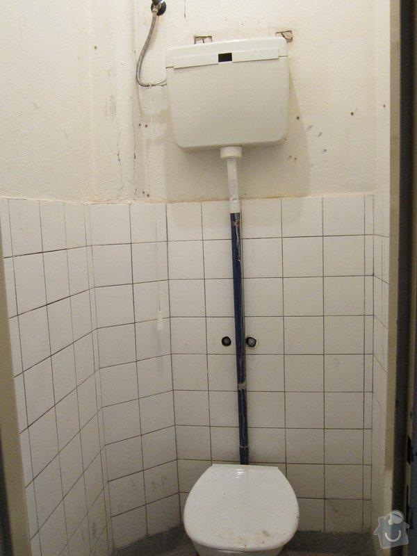 Instalace umyvadla a vody na stávající záchod: IMG_4623