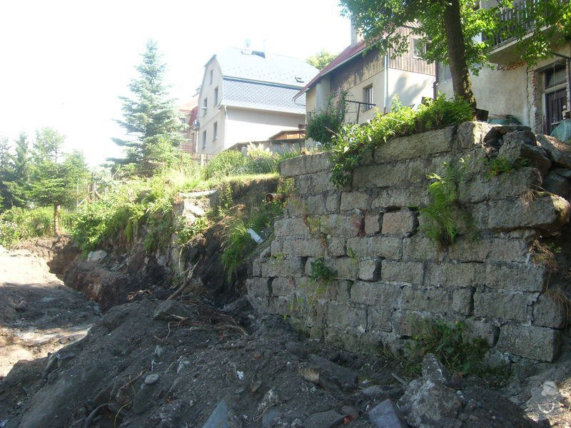 Stavba opěrné zdi: SL271322
