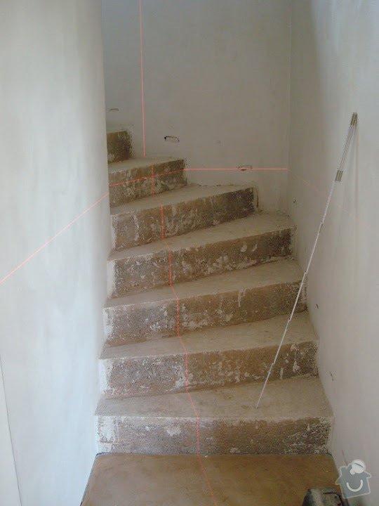 Pokládka Vinylove podlahy Moduleo: schodiste