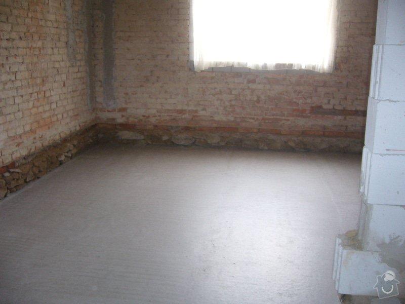 Vylití provětrávané podlahy, postupně 3 vrstvy betonu: beton_lorenc1