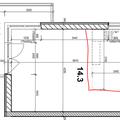 Realizace kuchyne do noveho bytu praha 10 kuchyna podorys