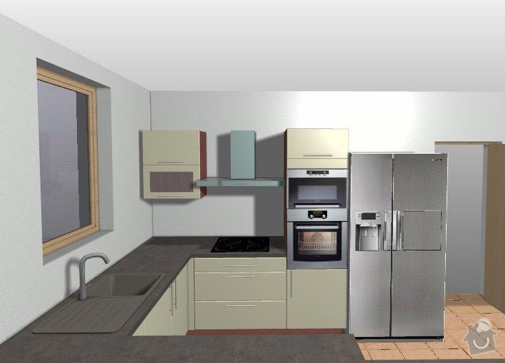 Realizace kuchyně do nového bytu - Praha 10: kuchyna-predstava-1