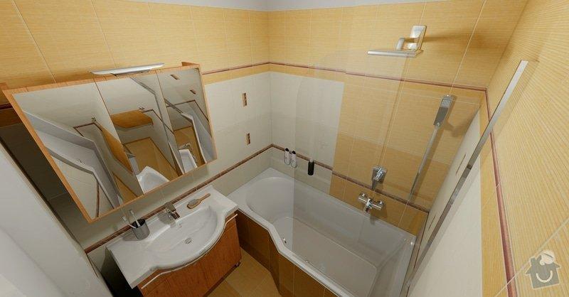 Rekonstrukce části bytu: Koupelna_Bamboo