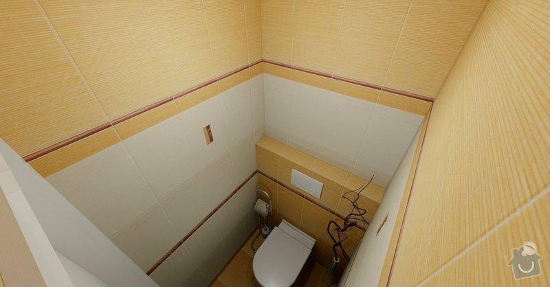 Rekonstrukce části bytu: WC_Bamboo