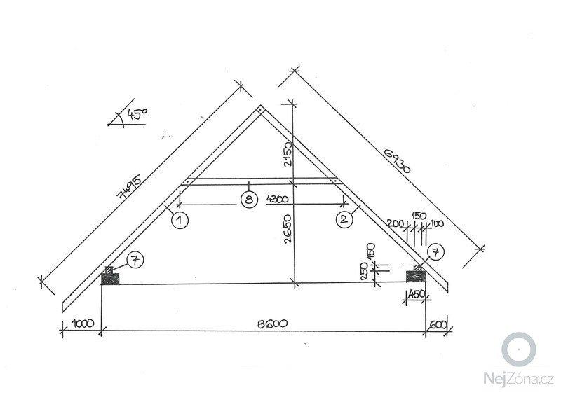 Nová střecha: REZ_krovu