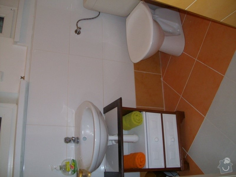 Obklad koupelny 16,5 m2  a pokládka dlažby 7,5 m2 v Praze: 010